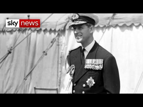 Prince Philip: A look back at his distinguished Royal Navy career