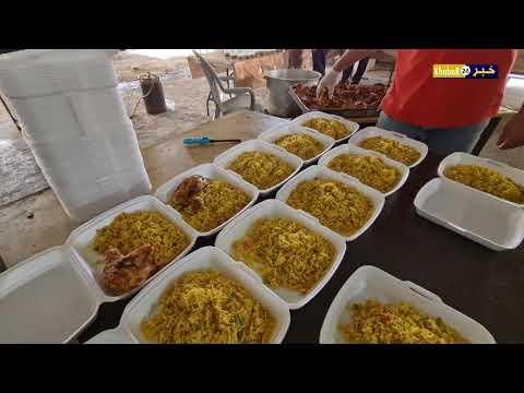 تكية عتيل، توفر الطعام للمحتاجين في بيوتهم وخاصة الكبار في السن