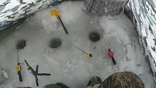 Рыбалка на водохранилище в старом осколе