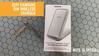 Samsung Wireless Charger Stand 2019 15W Qi Charger