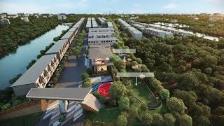 New Project of Premium Townhomes in a Picturesque Community with Excellent Facilities near Mega Bangna - 2/3 Bed 132 Sqm Units