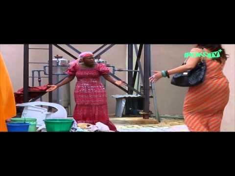 Uche Jumbo Beats Her House Help Up! -  Nigerian Movie