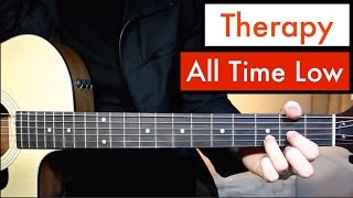 All Time Low - Therapy | Guitar Lesson (Tutorial) Chords
