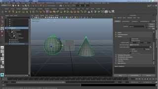 Setting an Object's Visibility in Maya