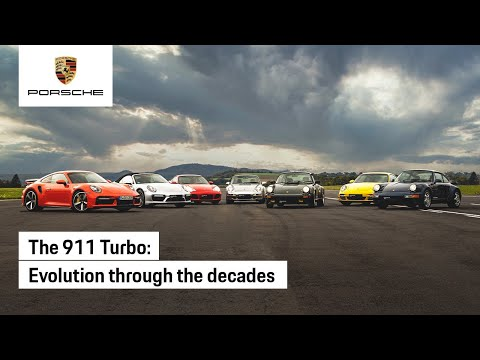 Evolution of the Porsche 911 Turbo