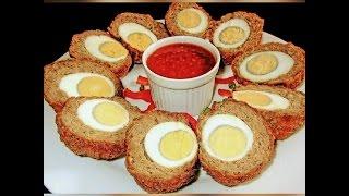 How To Make Scotch Eggs At Home (Egg Chops)
