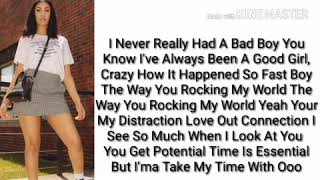 Queen Naija Bad Boy (lyrics)