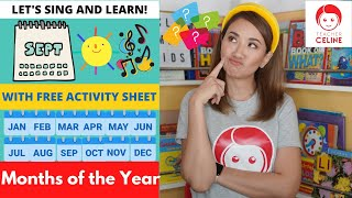 Kindergarten | Months of the Year  | Teacher Celine