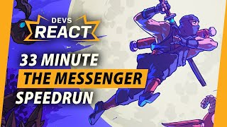 The Messenger Developers React to 33 Minute Speedrun by IGN