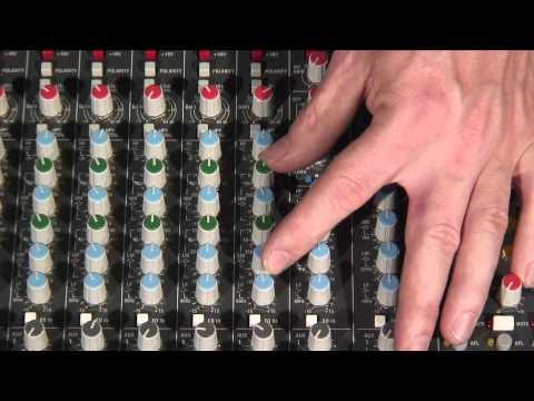 How To Set Up A Sound Desk