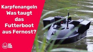 Karpfenangeln - was taugt das Gps Futterboot aus Fernost für 139€? Teil 1