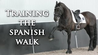 Training The Spanish Walk - Dressage Mastery TV Ep 157