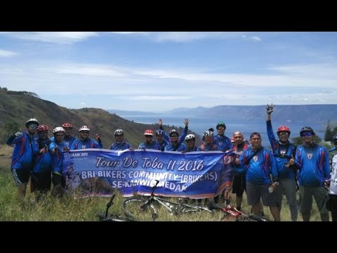 Gowes BRICCo Kanwil BRI Medan Tour De Toba II 2016
