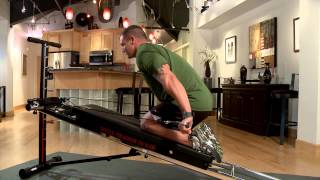 Tricep Extensions on the Total Trainer Home Gym