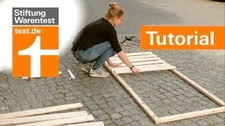 Tutorial: Selbstbau-Lattenrost besser als 1000-Euro-Konkurrenz (Test Lattenroste Stiftung Warentest)