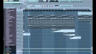 Basshunter - Dream Girl (Instrumental Remake in FL Studio 9)