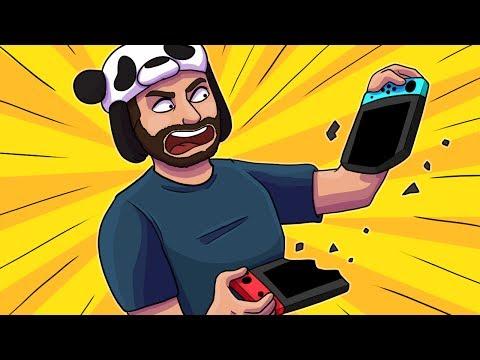 THE PANDA RAGE SAGA CONTINUES!! - Mario Kart 8 Deluxe Funny Moments