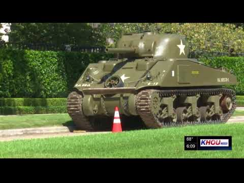 HOA fight over WWII tank