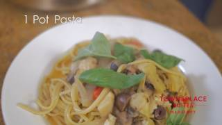 Simple is simply delicious with Billy Parisi's 1 Pot Pasta