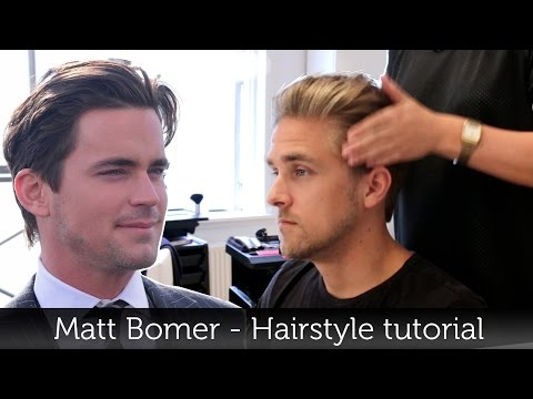 Matt Bomer Hairstyle | Awesome Men's Hair Tutorial | Slikhaar TV