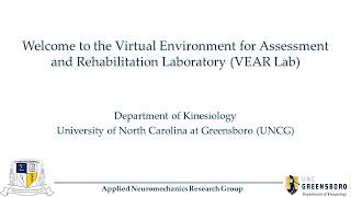 VEAR Lab Virtual Tour