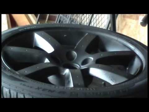 (How To) Plasti Dip Rims 350Z