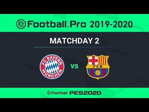 PES | FC BAYERN MÜNCHEN  VS FC BARCELONA | eFootball.Pro 2019-2020 #2-2