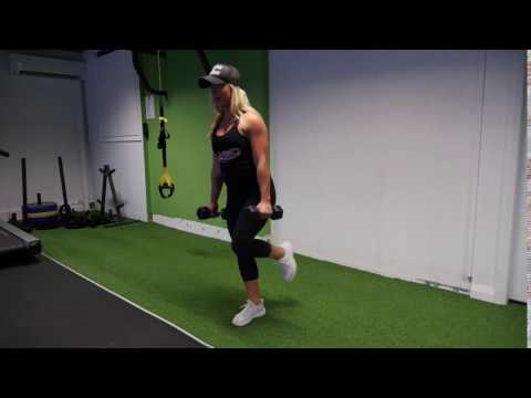 Dumbbell Single-Leg Deadlift to Row