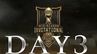 Rerun: 2017 Mid-Season Invitational: Play-In Day 1