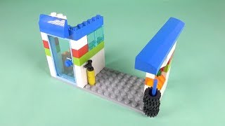 How to build Lego Classic 10715 Gas Station - मुफ्त