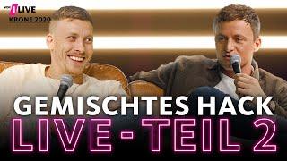 Gemischtes Hack LIVE: Teil 2 mit Felix Lobrecht und Tommi Schmitt | 1LIVE Krone 2020