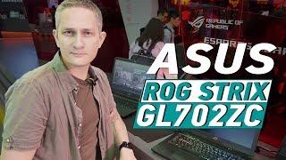 ASUS ROG STRIX GL702ZC И ДРУГИЕ - ПЕРВЫЙ НОУТБУК C RYZEN НА COMPUTEX 2017