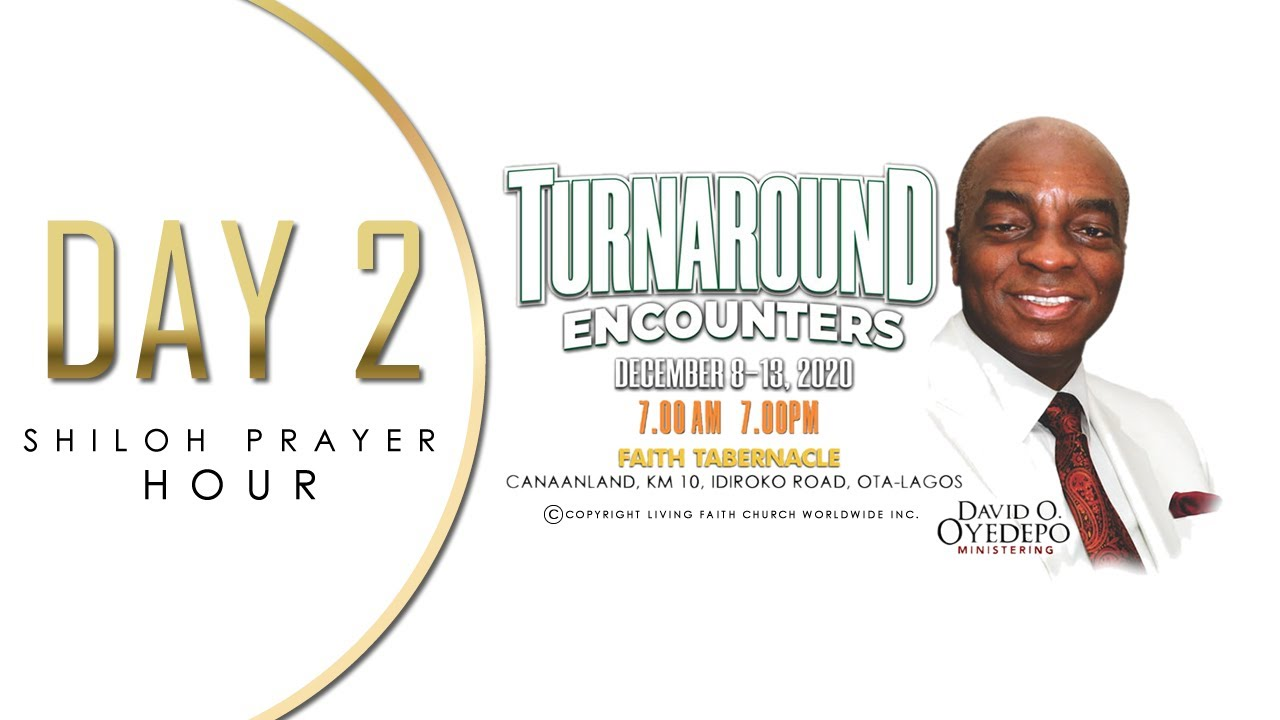 Shiloh 2020 Live Broadcast Day 2 - Turnaround Encounter