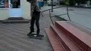 preview picture of video 'Skateboarding in Sztum'