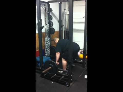 Pulling Deadstop Barbell Rack Rows