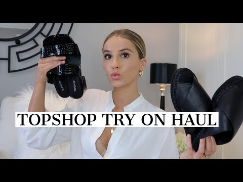 TOPSHOP NEW IN TRY ON HAUL | NADIA ANYA
