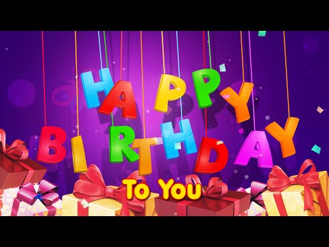 happy birthday animation