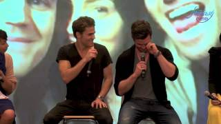 Love And Blood Itacon 3D : Daniel Gillies, Claire Holt