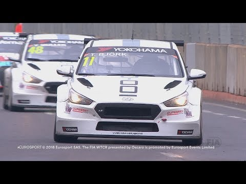 Marrakech Free Practice 1 -  Thed Björk fastest in first WTCR session