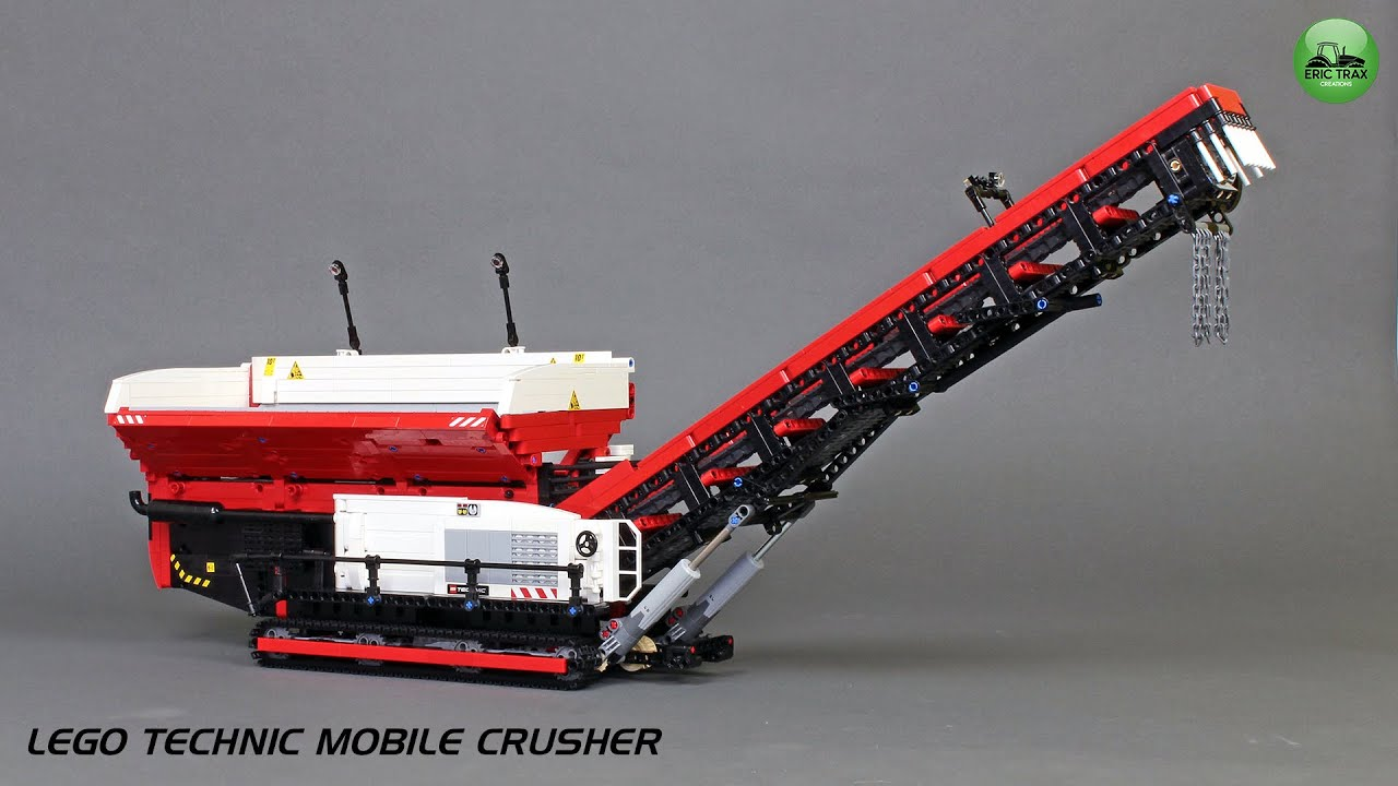 Lego Technic Mobile Crusher by Eric Trax