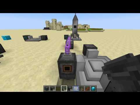 Грузовая ракета в Galacticraft 3