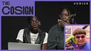 Rickey Thompson & Denzel Dion React To Viral Music Videos (Oliver Tree, Lil Dicky) | The Cosign