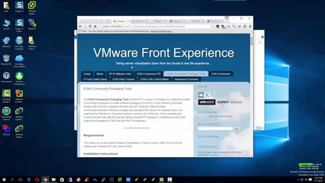 Create a VMware Offline Bundle from a VIB with VIB2ZIP