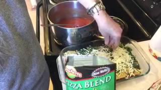Let's Cook A Dollar Tree Meal #6 Lasagna Recipe