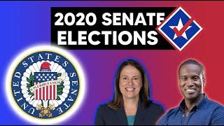 2020 Senate Map | 20 Days Till the Election
