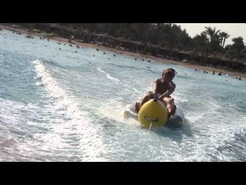 Bananen Boot in Hurghada