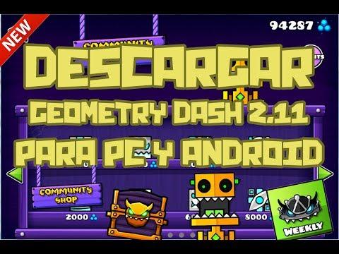 descargar geometry dash 2.11 en android