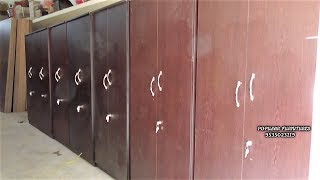Wardrobe Making And Fittings Particle Board Almirah Cupboard