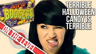 *HALLOWEEN CANDY CHALLENGE* Dollar Store Candy Tastes Gross