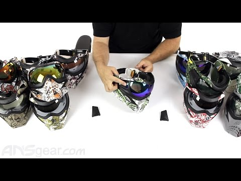 V-Force Grill Paintball Print Mask – Review